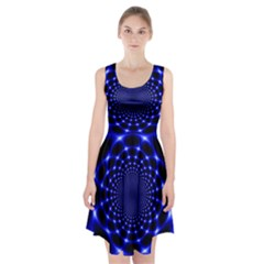 Indigo Lotus  Racerback Midi Dress