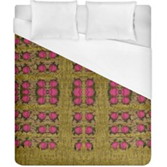 Bloom In Gold Shine And You Shall Be Strong Duvet Cover (california King Size)
