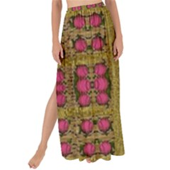 Bloom In Gold Shine And You Shall Be Strong Maxi Chiffon Tie Up Sarong