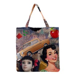 Out In The City Grocery Tote Bag