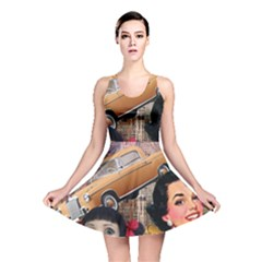 Out In The City Reversible Skater Dress