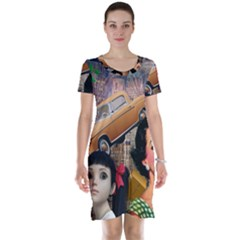Out In The City Short Sleeve Nightdress