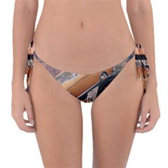 Out In The City Reversible Bikini Bottom