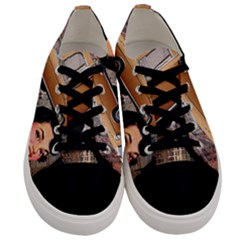 Out In The City Men s Low Top Canvas Sneakers