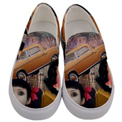 Out In The City Men s Canvas Slip Ons