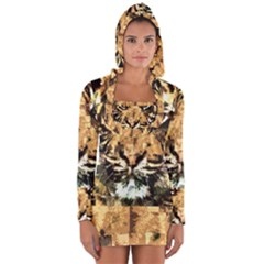 Tiger 1340039 Long Sleeve Hooded T Shirt
