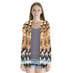 Tiger 1340039 Drape Collar Cardigan