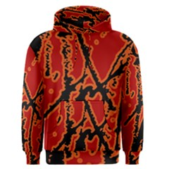 Vivid Abstract Grunge Texture Men s Pullover Hoodie