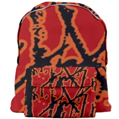 Vivid Abstract Grunge Texture Giant Full Print Backpack