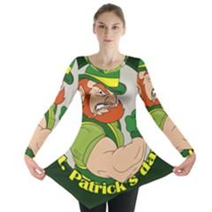 St  Patricks Day Long Sleeve Tunic