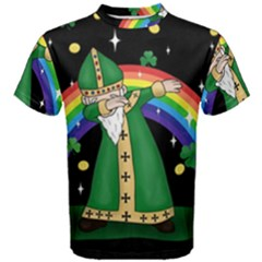 St  Patrick  Dabbing Men s Cotton Tee