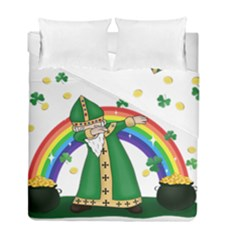 St  Patrick  Dabbing Duvet Cover Double Side (full/ Double Size)