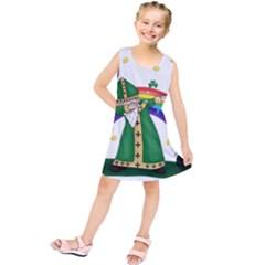 St  Patrick  Dabbing Kids  Tunic Dress