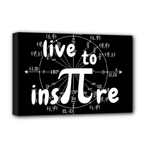 Pi Day Deluxe Canvas 18  X 12