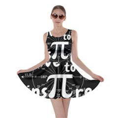 Pi Day Skater Dress