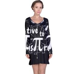 Pi Day Long Sleeve Nightdress