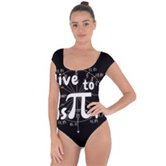 Pi Day Short Sleeve Leotard