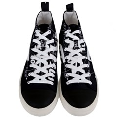 Pi Day Men s Mid Top Canvas Sneakers