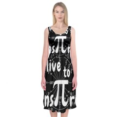 Pi Day Midi Sleeveless Dress