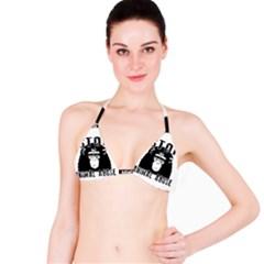 Stop Animal Abuse   Chimpanzee  Bikini Top