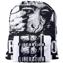 Animal Liberation Front   Chimpanzee  Giant Full Print Backpack