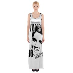 Elvis Presley Maxi Thigh Split Dress
