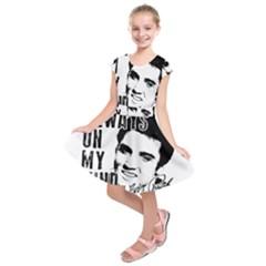 Elvis Presley Kids  Short Sleeve Dress