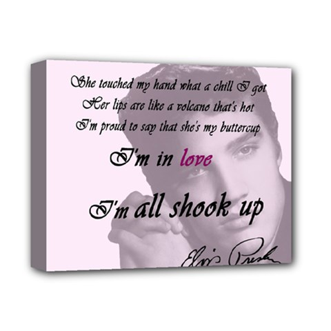 Elvis Presley   All Shook Up Deluxe Canvas 14  X 11