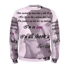 Elvis Presley   All Shook Up Men s Sweatshirt