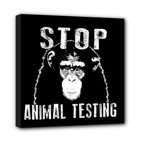 Stop Animal Testing   Chimpanzee  Multi Function Bag