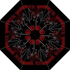 Stop Animal Testing   Rabbits  Folding Umbrellas