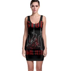 Stop Animal Testing   Rabbits  Bodycon Dress