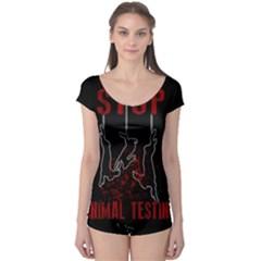 Stop Animal Testing   Rabbits  Boyleg Leotard