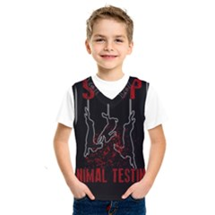 Stop Animal Testing   Rabbits  Kids  Sportswear