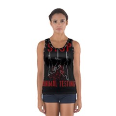 Stop Animal Testing   Rabbits  Sport Tank Top