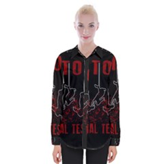 Stop Animal Testing   Rabbits  Womens Long Sleeve Shirt