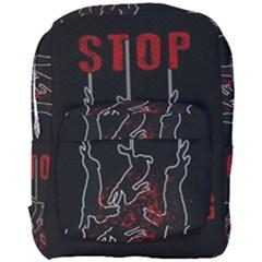Stop Animal Testing   Rabbits  Full Print Backpack