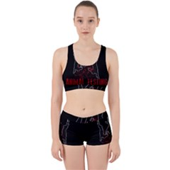 Stop Animal Testing   Rabbits  Work It Out Sports Bra Set
