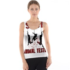 Stop Animal Testing   Rabbits  Tank Top