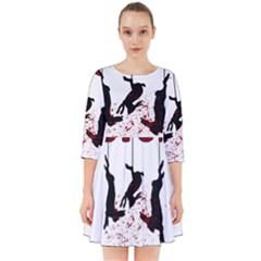 Stop Animal Testing   Rabbits  Smock Dress