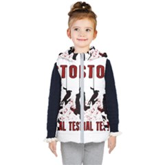 Stop Animal Testing   Rabbits  Kid s Puffer Vest