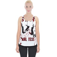 Stop Animal Testing   Rabbits  Piece Up Tank Top