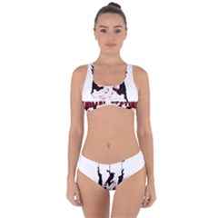Stop Animal Testing   Rabbits  Criss Cross Bikini Set