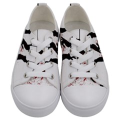 Stop Animal Testing   Rabbits  Kids  Low Top Canvas Sneakers