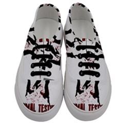 Stop Animal Testing   Rabbits  Men s Classic Low Top Sneakers