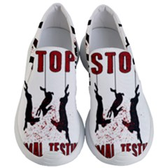 Stop Animal Testing   Rabbits  Women s Lightweight Slip Ons