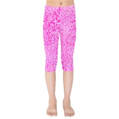 Splatter Kids  Capri Leggings