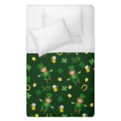 St Patricks Day Pattern Duvet Cover (single Size)