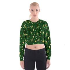 St Patricks Day Pattern Cropped Sweatshirt