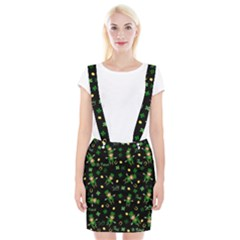 St Patricks Day Pattern Braces Suspender Skirt
